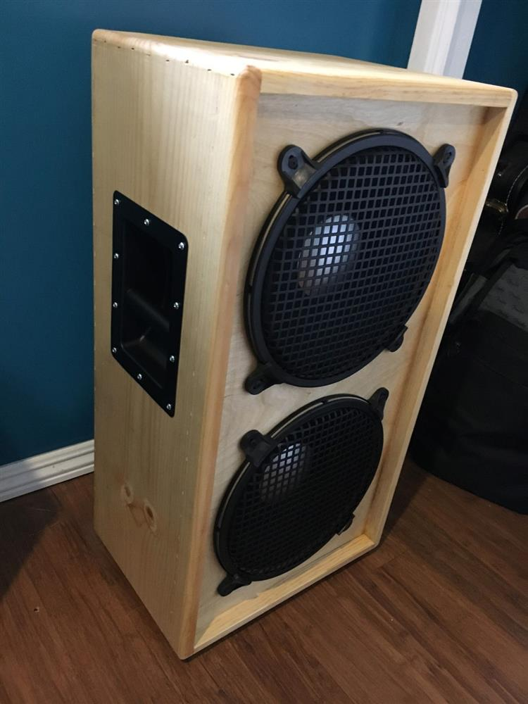 "DIY Self Build Kit 2x12/"" 18mm Guitar Speaker Cabinet"