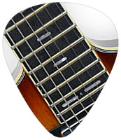 24 frets on PHRED instruments Guitars