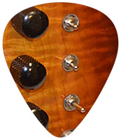 Mini Toggles on PHRED instruments Guitars