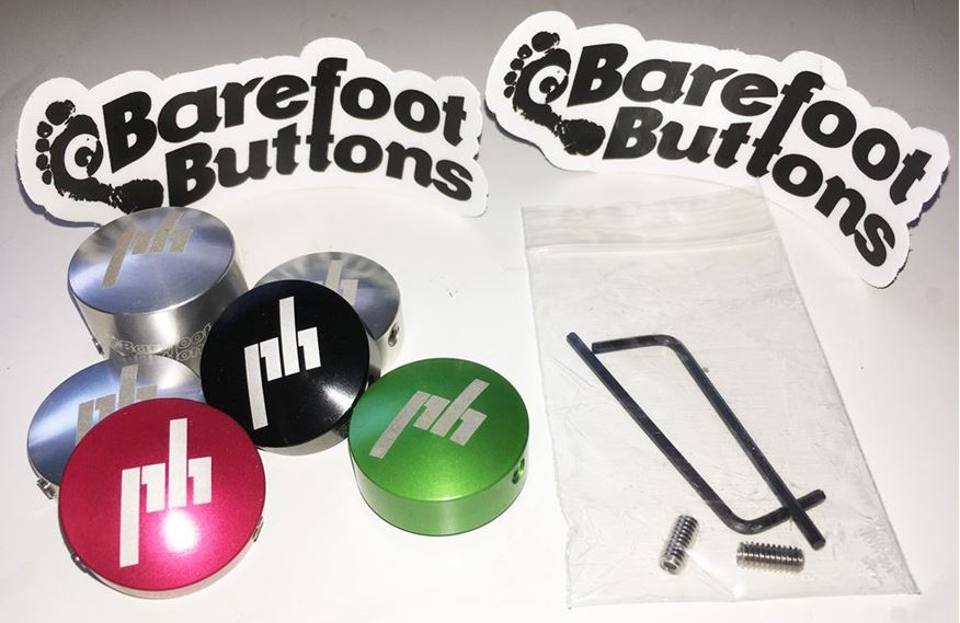 Barefoot Buttons: The solution to your pedal problems.