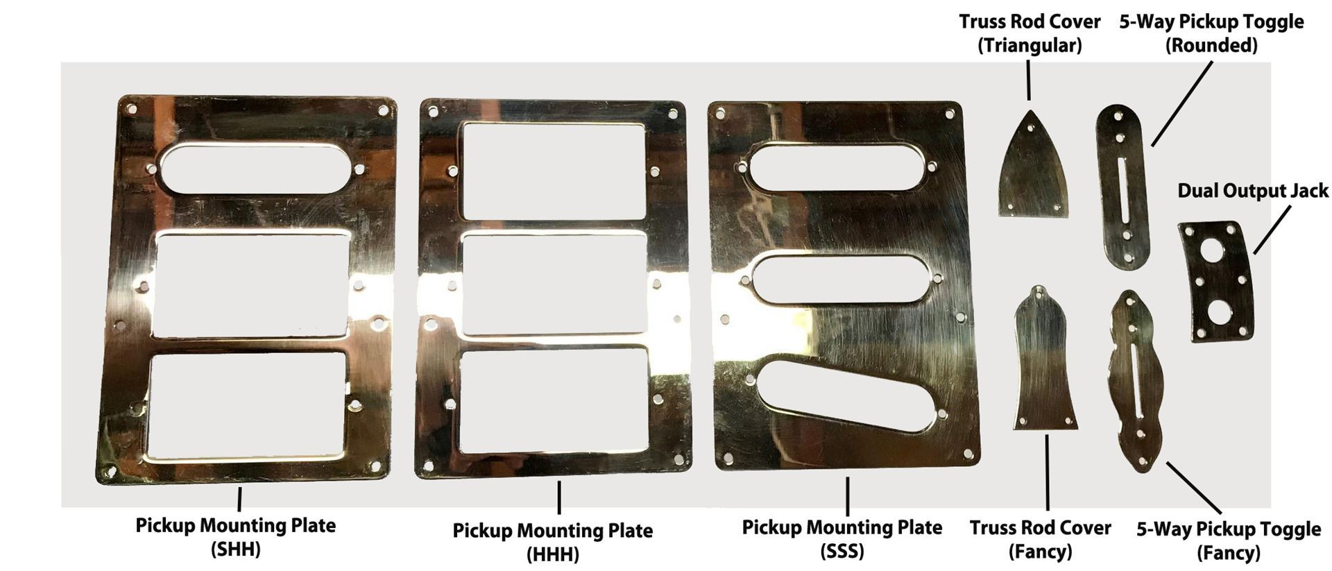 Brass Mounting Plates