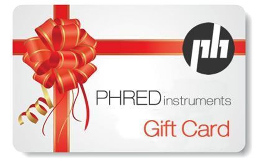 PHRED instruments Gift Card