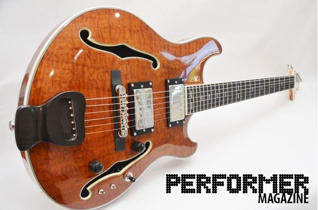 Performer Magazine Review of the DockStar Koa