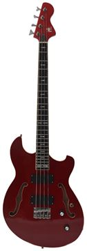Ernesto Bass - 4 String - Short Scale - Red