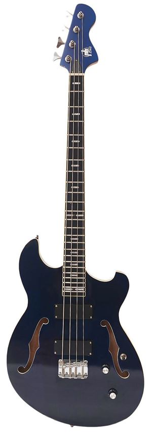 Ernesto Bass - 4 String - Short Scale - Blue