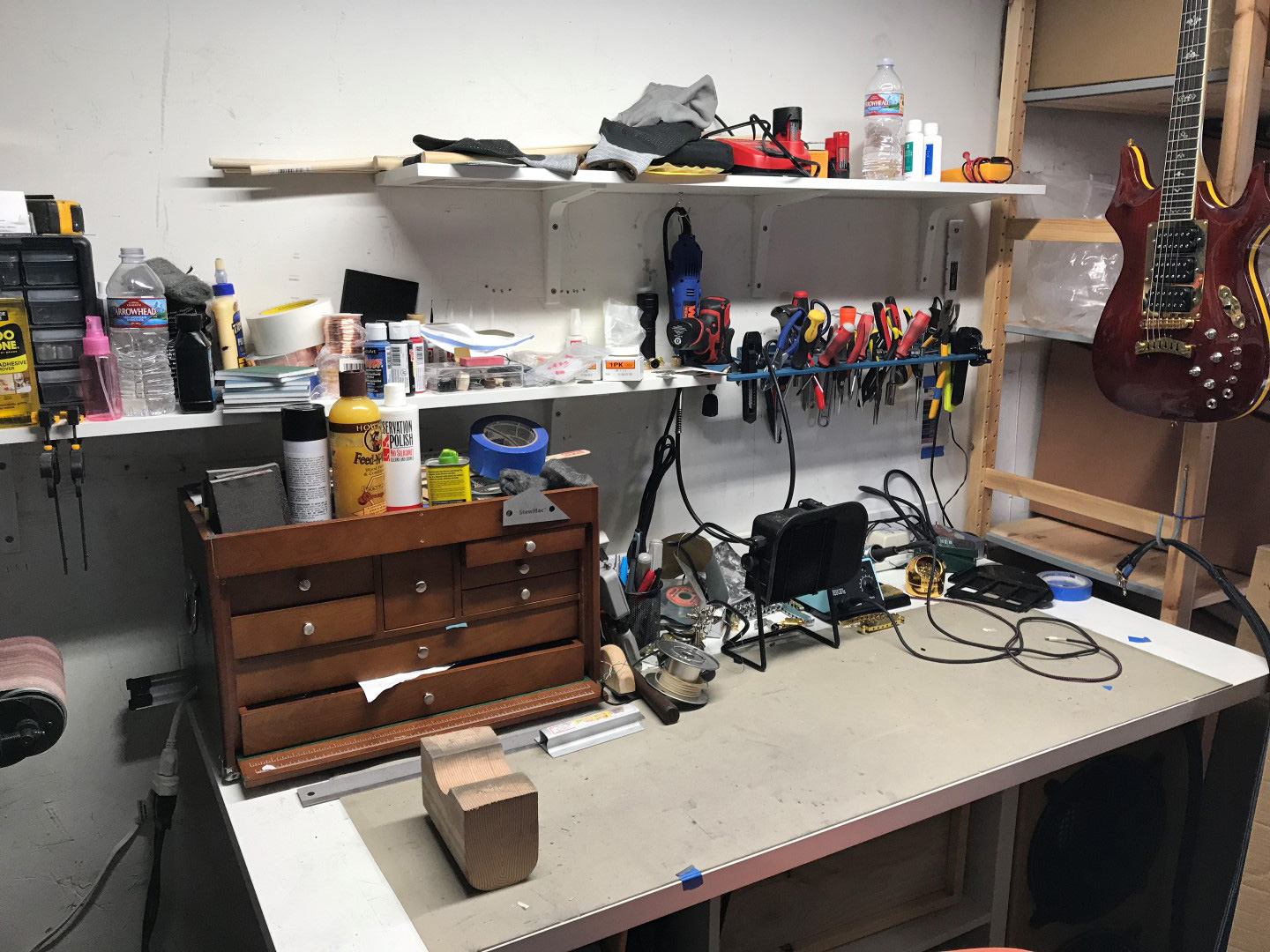 PHRED instruments Shop Image - guitar workbench